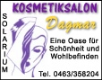 Kosmetik Dagmar - Solarium - Make Up - Klagenfurt
