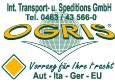 Internat. Transport u. Spedition  Ogris - Klagenfurt